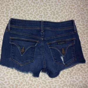 Hudson shorts, size 24 but feel like a 26